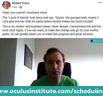 Oculus Institute Reviews from Robert Frost